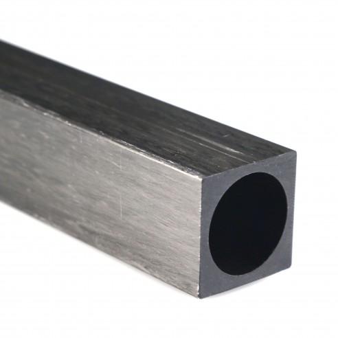 Square Carbon Tube 30 x 30 mm, diameter 25 mm