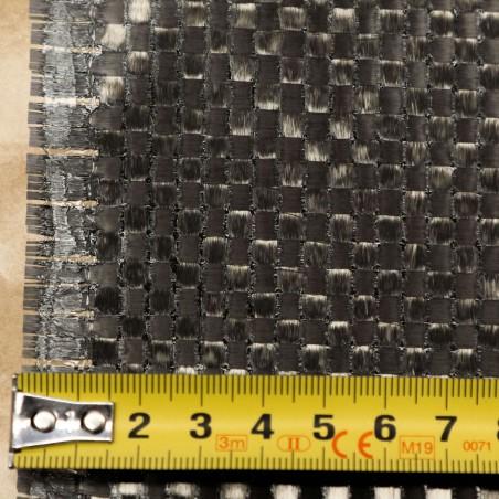 Prepreg Carbono-Epoxi VTC401-C98PW-ST-HS-3K- 45%RW Tafetán de 98 g/m2, Ancho 1020 mm