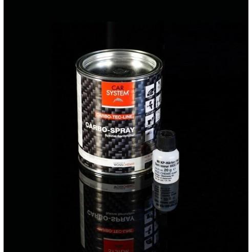 Carbo Spray masilla de poliéster pistola para piezas de carbono