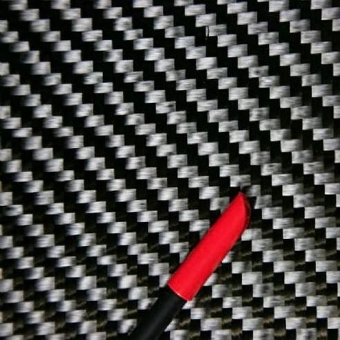 Tejido de carbono sarga de 12 K y 416 g/m²