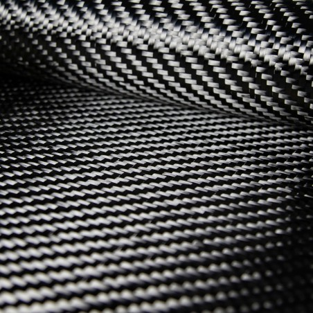 428 gsm 2x2 Twill 12K Carbon Fabric