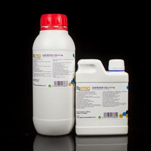 Résine époxy Castropox 1233 pour Perfusion et d'Injection