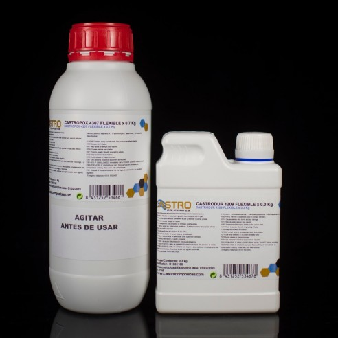 Castropox 4307 FLEX / 1209 Flexible Epoxy Resin