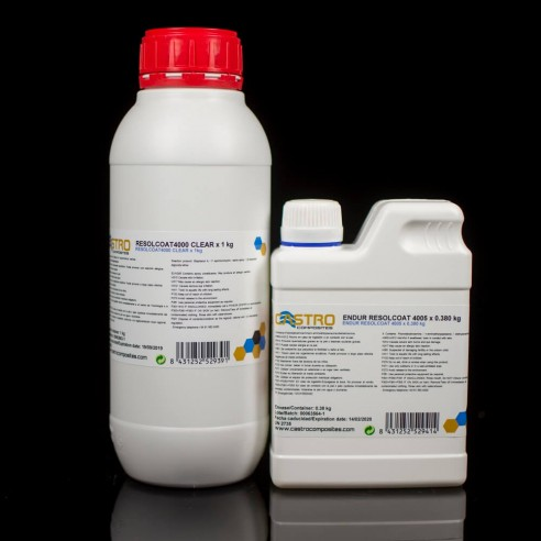 Resolcoat 4000/4005 transparent epoxy resin
