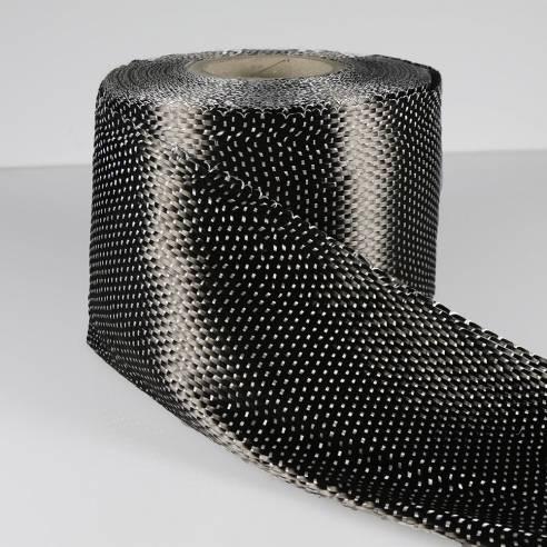 Cinta de Carbono Unidireccional 12K de 334 g/m2, ancho 165 mm