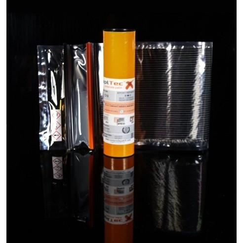 Patch-epoxid-C10 mit carbon-gewebe biaxial - 400 g/m2