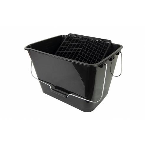 16L Plastic Bucket Pro + plastic grille