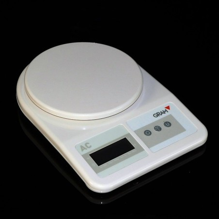 Electronic balance with replaceable lithium battery