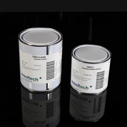 Resoltech 7090/7091T clear Epoxy Gel Coat