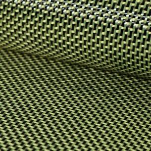 Tejido de kevlar/carbono sarga 2/2 de 215 g/m2