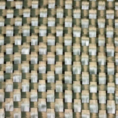 Woven glass fabric of 500 g / m2