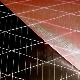Tessuto di carbonio Unidirezionale (0°) del 24 K e 300 g/m2