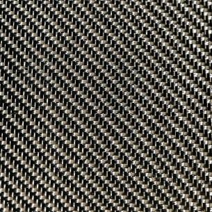 Carbone tissé en sergé de 2 x 2 3K et 200 g/m2, avec un dimensionnement de l'époxy