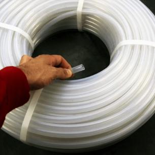 Tube d'Absorption de LDPE de Perfusion de 12 mm x 1,3 mm