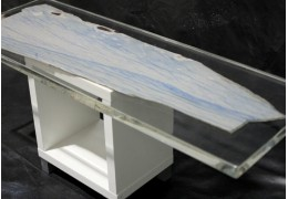 Granite and epoxy resin table